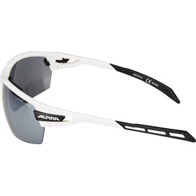 Alpina Tri-Scray Lunettes, white-black
